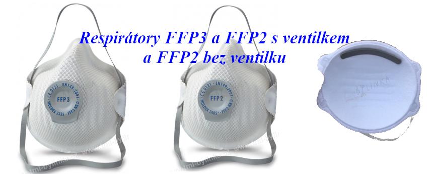 Respirator FFP3, FFP2